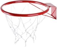 Баскетбольное кольцо No Brand КБ51 №5 с сеткой (d 380мм) -