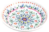 Миска для животных Tarhong Boho Medallion / TCT3052CSMM (белый с рисунком) -
