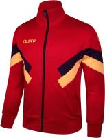 Олимпийка спортивная Kelme Adult Training Jacket / 3881328-600 (XL, красный) -