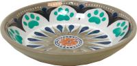 Миска для животных Tarhong Carmel / TCT3052CSCM (бежевый с рисунком) -