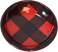 Миска для животных Tarhong Check / PE20775378 (красный) -
