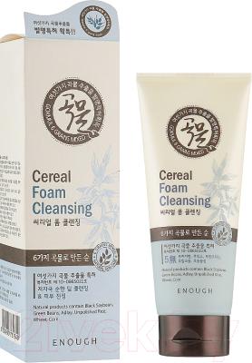 Пенка для умывания Enough 6 Mixed Cereal Foam Cleanser с экстрактом злаков (100мл)