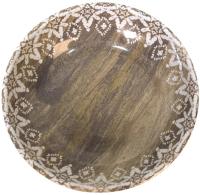 Миска для животных Tarhong Moroccan Wood / TCT3052CSOT (древесная с рисунком) -