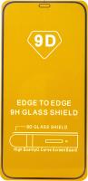 Защитное стекло для телефона Bingo Full Silkprint для iPhone 12/12 Pro (черный) -