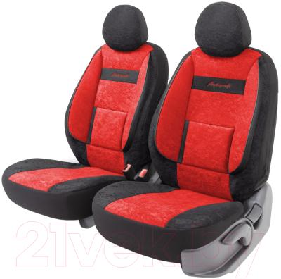 Чехол для сиденья Autoprofi Comfort COM-0405 BK/RD