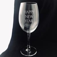 Бокал Truelaser Happy New Year / BV048 (630мл) -