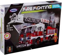 Конструктор XingBao Car Пожарная машина с лестницей / XB-03031 -