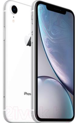 Смартфон Apple iPhone XR 64GB / MH6N3 (белый)