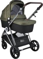 Детская универсальная коляска Farfello Cloud Baby CB 2 в 1 / CB-11 (хаки) -