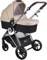 Детская универсальная коляска Farfello Cloud Baby CB 2 в 1 / CB-22 (бежевый) -