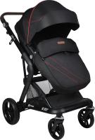 Детская универсальная коляска Farfello Jolly-S 2 в 1 / J-77 (черный) -