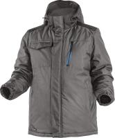 Куртка рабочая Hoegert Ren Утепленная / HT5K241-L (графит) -