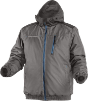 Куртка рабочая Hoegert Mozel Утепленная / HT5K242-M (графит) -