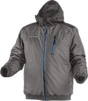Куртка рабочая Hoegert Mozel Утепленная / HT5K242-L (графит) -