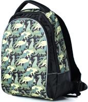 Школьный рюкзак Galanteya 514 / 9с2000к45 (черный/оливковый) -