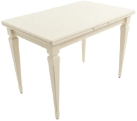 Обеденный стол Аврора Греция 110 200x700x77 (тон 71/жемчуг) -