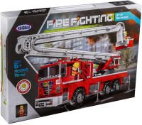 Конструктор XingBao Car Пожарная подъемная машина / XB-03029 -
