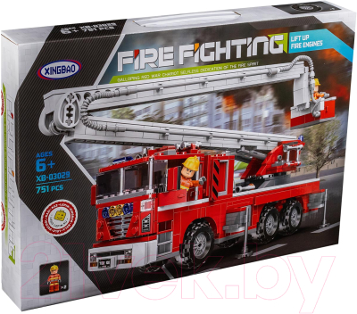 Конструктор XingBao Car Пожарная подъемная машина / XB-03029