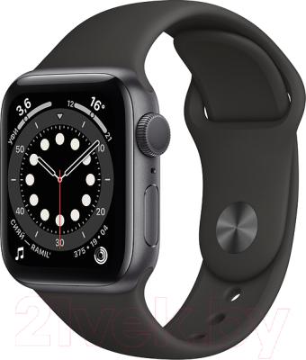 Фото - Умные часы Apple Watch Series 6 GPS 40mm / MG133 смарт часы apple watch series 6 40 мм gold mg123ru a