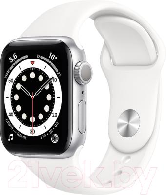 Фото - Умные часы Apple Watch Series 6 GPS 44mm / M00D3 смарт часы apple watch series 6 40 мм gold mg123ru a