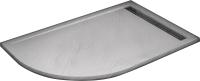 Душевой поддон WeltWasser TRR 10080 Stone-WT R (с сифоном) -