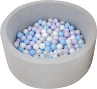 Игровой сухой бассейн Babymix S/L-MG-J-B (200 шариков) -