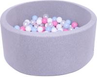 Игровой сухой бассейн Babymix S/MR-MG-J-B (200 шариков) -