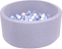 Игровой сухой бассейн Babymix S/MG-SS-P-B (200 шариков) -