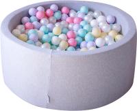 Игровой сухой бассейн Babymix S/MM-L-MJ-MR-J-B (200 шариков) -