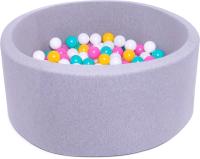 Игровой сухой бассейн Babymix S/B-ZH-Y-M (200 шариков) -