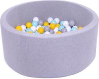 Игровой сухой бассейн Babymix S/B-ZH-SS-MM (200 шариков) -