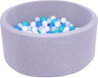 Игровой сухой бассейн Babymix S/B-MG-G-M (200 шариков) -