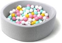 Игровой сухой бассейн Babymix S/B-ZH-MR-M (200 шариков) -
