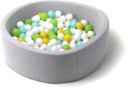 Игровой сухой бассейн Babymix S/B-ZH-SAL-M (200 шариков) -