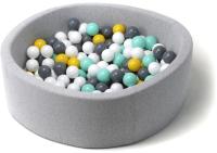Игровой сухой бассейн Babymix S/B-S-ZH-M (200 шариков) -