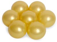 Шары для сухого бассейна Babymix ZOL100 (100шт, золото) -