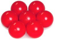 Шары для сухого бассейна Babymix K100 (100шт, красный) -