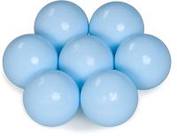 Шары для сухого бассейна Babymix M-G100 (100шт, молочный/голубой) -