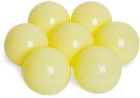 Шары для сухого бассейна Babymix M-ZH100 (100шт, Молочный/желтый) -