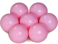 Шары для сухого бассейна Babymix M-R100 (100шт, молочный/розовый) -