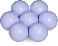 Шары для сухого бассейна Babymix L100 (100шт, молочный/фиолетовый) -