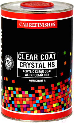 Лак автомобильный CS System Clear Coat Crystal HS / 854718