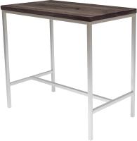 Обеденный стол Buro7 Большой Классика 118x64x106 (дуб мореный/белый) -