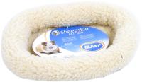 Лежанка для животных Duvo Plus Овчинка / 711/100/DV (бежевый) -