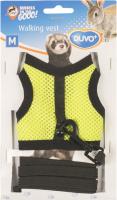 Шлея-жилетка для животных Duvo Plus Walking Vest / 1717086/DV (М, желто-зеленый) -