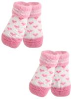 Носочки для животных Puppia Angel Heart / PAMD-SO073-PK-L (розовые сердечки) -