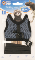 Шлея-жилетка для животных Duvo Plus Walking Vest / 1717085/DV (М, синий) -