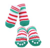 Носочки для животных Puppia Crinch / PAOC-SO1270-GR-S (зеленый) -