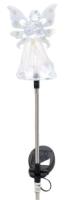 Садовая фигура-светильник Чудесный Сад 682-W Ангел (белый) -