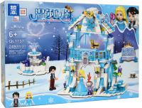 Конструктор Zhe Gao Disney Ледяной замок / QL1137 -